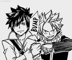 anime manga mystuff gray Rivals Natsu Fairy Tail Natsu Dragneel ...
