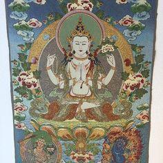 Avalokiteshvara with a Teal Halo  #spiritual #inspiration #tea #ritual #influencer #antiques #uniquegiftformen #travelblogger #prosperity #meditationstones #cannabis #yoga #staging #fitbody #tibetanjewelry #outfy @outfyinc by explosionluck. spiritual #antiques #uniquegiftformen #ritual #cannabis #meditationstones #fitbody #tibetanjewelry #tea #outfy #influencer #prosperity #staging #travelblogger #inspiration #yoga #love #TagsForLikes #TagsForLikesApp #TFLers #tweegram #photooftheday…