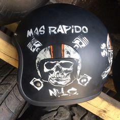 custom helmet biltwell bonanza