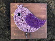 READY TO SHIP Bird String Art Spring Decor Easter String