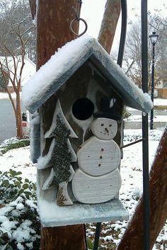 the Snowman house...