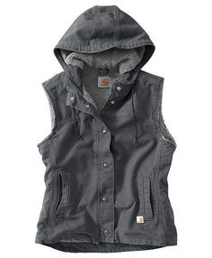 - Carhartt Sandstone Berkley Vest II - size s. Sweater Weather, Winter Sweaters, Women's Sweaters, Sweater Vests, Western Outfits, Country Outfits, Country Attire, Carhartt Vest, Camping Outfits For Women