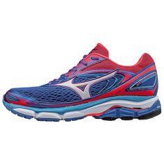 sports shoes d0b23 0f3a9 Mizuno Women s Wave Inspire 13 Running Shoe, Size 6.5 In Color Malibu Blue- Pink