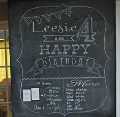 chalkboard wall ideas - Google Search