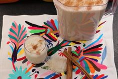 Horchata - Creamy Mexican Rice Drink - Mex Mundo #horchata #ricedrink