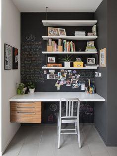 Küçük Odalarda Çalışma Alanı Oluşturmak - http://hepev.com/kucuk-odalarda-calisma-alani-olusturmak/