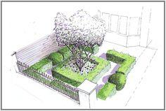 Smart City Front Garden - Bea Ray Garden Design