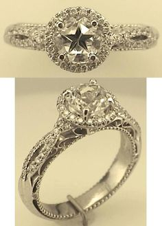 Lone Star cut diamond mined in Texas. Want!!