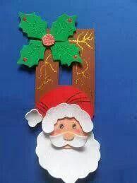 Adorno de navidad Christmas Wood, Christmas 2019, Xmas, Christmas Ornaments, Merian, Sewing Crafts, Santa, Holiday Decor, Door Switch