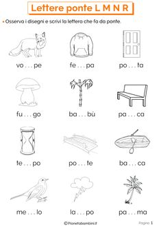 Esercizi sulle lettere ponte 1 Math For Kids, Activities For Kids, Kids Math Worksheets, Italian Language, Learning Italian, Teaching Materials, I School, New Years Eve Party, Kids And Parenting