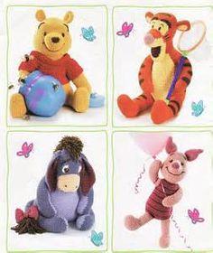 Winnie, Tigger, Eeyore and Piglet ♥