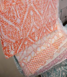 Malene B fabrics at this year's ICFF (Transitions collection)