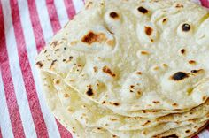 Healthy Homemade Tortillas - The Pioneer Woman & Life in the A-Frame I Love Food, Good Food, Yummy Food, Mexican Dishes, Mexican Food Recipes, Tortilla Recipes, All You Need Is, Homemade Flour Tortillas, Tasty Kitchen