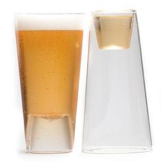 Beer/Shot Glass Set Of 4