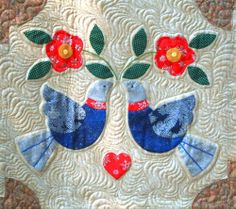 Two Turtle Doves by Phyllis Street as seen at Arts Magazine