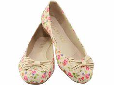 Sapatilha Floral Juta (Ref.1028), por apenas R$69.90 + frete grátis! Para verificar a numeração e efetuar a compra é só entrar em contato pelo e-mail: vendas@sapatilhashop.com.br