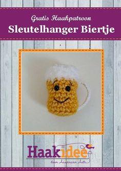 Crochet Keychain, Free Pattern, Diy And Crafts, Crochet Hats, Diy Projects, Stitch, Knitting, Sewing, Mardi Gras