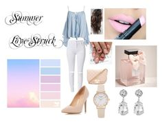 """""""Summer Love-Struck"""" by vollyballer102 ❤ liked on Polyvore featuring Sans Souci, Fiebiger, Abercrombie & Fitch, Forever 21, Dorothy Perkins and Kenneth Jay Lane"""