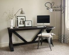 plans to make this sweet desk out of woodtonnes of other plans as well