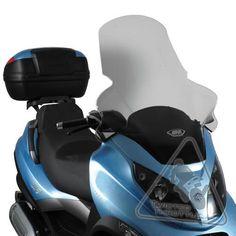 Givi Windscreen (Piaggio MP3 150 & 250 three-wheeled scooter, '06-)