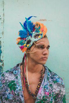 #carnavalpinterest Carnival Fantasy, Tropical Party, Cosplay, Costumes, Brazil, Rave, Glitter, Rainbow, Dress