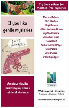 For fans of 'nice' murders and amateur sleuths