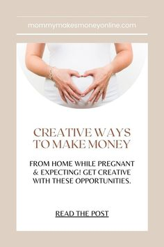 How You Can Make Money As A Stay-At-Home mom (psst...don't forget to click the pin it button on the image above so you can easily reference this list down the road!) Whether you're staying home with one kiddo or ten, it's common for us stay-at-home Stay At Home Mom, Work From Home Moms, Make Money From Home, Way To Make Money, Make Money Online, Mom Blogs, Best Mom, Earn Money, Saving Money