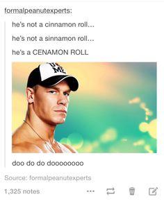John Cena. The ultimate meme.