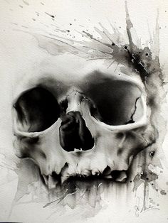 Skull Tattoo Designs Drawings | Skulls Tattoo Designs · Skullspiration.com - skull designs, art ...