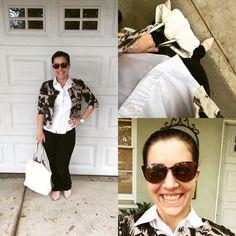 Bringing out my inner Girl Boss today with Michael Kors by my side #ootd #Justthedesign #dreams #fashion #blogger #girlboss #klmfashionstyle #livelaughstyle #prgal #JuicyCoutureSunglasses #Forever21GrayHeadband #MichaelKorsFloralJacket #MeronaOxford #LuckyBrandBlackJeans #mossimogoldnudeflats #MichaelKorsWatch #WhiteStuddedTote #sunshine #shinebright #gottakeepgoing