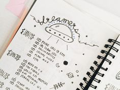"colormecosmic: ""snippets of my bullet journal ♪( ´▽`) """