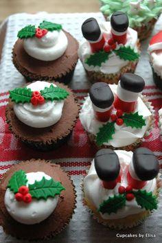 Santa Baby Christmas Cupcake Ideas | Cupcake Ideas For You
