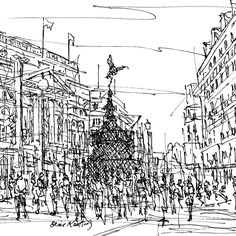 View Piccadilly Circus London by Brian Keating. Browse more art for sale at great prices. New art added daily. Buy original art direct from international artists. Shop now Piccadilly Circus, International Artist, Art For Sale, New Art, Find Art, Original Art, Around The Worlds, Artists, London