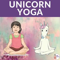 Your children can take an imaginary journey to a magical unicorn world through Unicorn Yoga! Playing in a forest or living in a magical castle by the lake. Childrens Yoga, Yoga Books, Mindfulness For Kids, Montessori Toddler, Magical Unicorn, Yoga For Kids, Printables, Poses, Toddlers