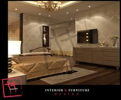 glamours new classic master bedroom.