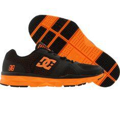 online store de2a2 04f30 DC Unilite Trainer TP (black  orange)