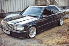 mercedes benz 190e evo on oz racings wheels pinterest. Black Bedroom Furniture Sets. Home Design Ideas