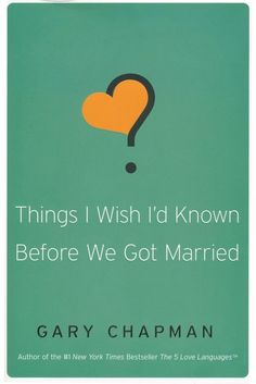 In this interview, best-selling author Gary Chapman offers engaged couples practical advice from his book, Things I Wish I'd Known Before We Got Married.  Topics of discussion include  roles in marriage, personalities, finances and in-laws.