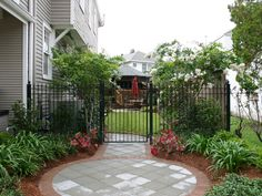 Side Yard Landscaping Ideas | Photo 2 of 10 Now the side yard is a usable, beautiful space.