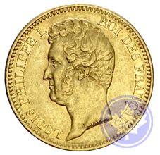 Monnaie française: 20 francs Louis Philippe 1830a ttb