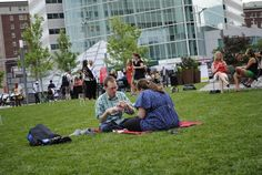 'Block Parties' Are Taking Over Dewey Square This Summer Every Thursday there will be free concerts on the Greenway as part of Boston Calling's season series.