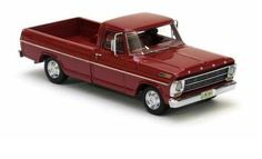 Neo Scale Models scale model 1968 Ford Pick Up in Red Model Cars Kits, Kit Cars, Car Kits, Classic Ford Trucks, Classic Cars, Plastic Model Cars, Ford Models, Model Pictures, Car Insurance