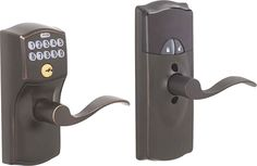 Keyless entry for the home...I love this idea.