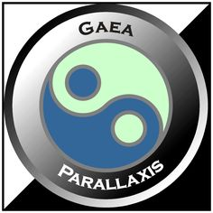 Gaea Parallaxis Logo Tech Logos, Content, Writing, School, Being A Writer, Letter