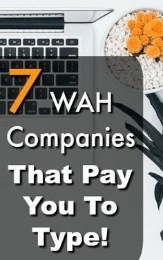 FREE TRANING Are you looking for a Work at Home Job? Did you know that you can get paid to type from home with little to no experience? Check out these 7 WAH companies that pay you to type! Ways To Earn Money, Earn Money From Home, Earn Money Online, Online Jobs, Way To Make Money, Money Fast, Work From Home Companies, Work From Home Opportunities, Business Opportunities
