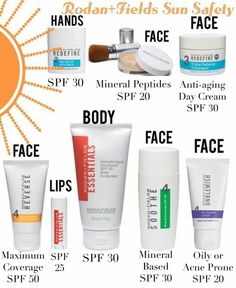 Rodan and Fields skin care products.  www.rdalpe.myrandf.com.