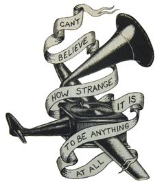 neutral milk hotel lyrics - how strange it is to be anything at all