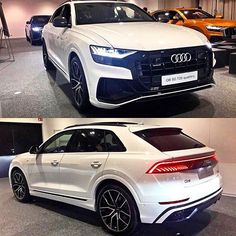 Audi Q8 After Orange and Blue now the best combo yet? White Q8 with #blackoptics pack #AudiQ8 in white with black grill mirrors and trim Now waiting for the RSQ8 @audinorthmiami ---- oooo #audidriven - what else ---- . . . . #Audi #Q8 #AudiQ #AudiSUV #quattro #drivenbyvorsprung #marclichte