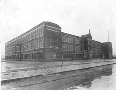 Take a look at photos of buildings throughout Dearborn from the late onward. Photos courtesy of Dearborn Historical Museum. Dearborn Michigan, Media Center, Looking Back, Louvre, Museum, Usa, History, World, School