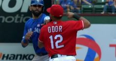 ARLINGTON, Texas— A feud simmering since Jose Bautista's bat flip in last year's AL division series boiled over into a brawl in the final game of the season between the Toronto Blue Jay…